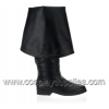 MAVERICK-2045 Black Faux Leather